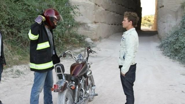 «Мотоцикл в огне»